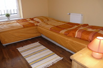Ferienhaus Loppin Loppiner See Schlafzimmer 2