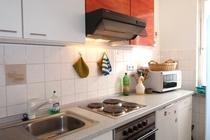 Ferienhaus Dabel Holzendorfer See Küche