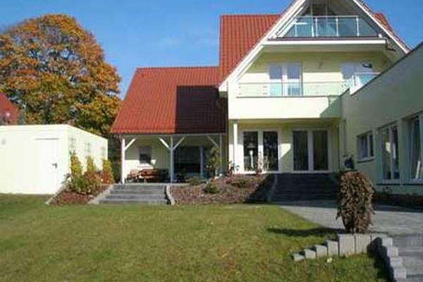 Ferienhaus Dabel Holzendorfer See Hausansicht