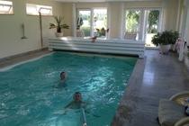 Ferienhaus Dabel Holzendorfer See Im Pool Spaß haben