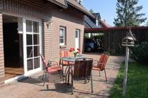 Ferienhaus Fleesensee Untergöhren Garten