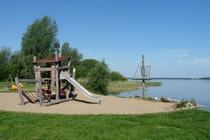 Fleesensee Badestrand Spielplatz