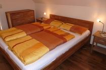 Ferienhaus Fleesensee Untergöhren Schlafzimmer 1
