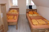 Ferienhaus Fleesensee Untergöhren Schlafzimmer 2