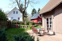 Ferienhaus Fleesensee Untergöhren Terrasse