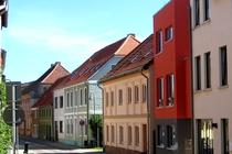 Ferienwohnung Malchow Straßenseite