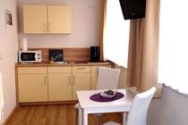 Ferienwohnung Malchow Küchenzeile