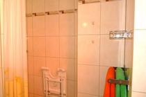 Ferienwohnung Malchow Dusche