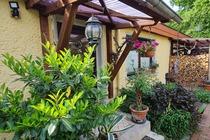 Ferienhaus Mirow Garten