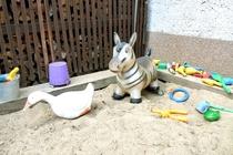 Ferienhaus Mirow Spielzeug