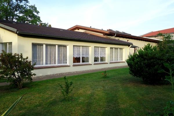 Ferienhaus Malchow Fleesensee Garten
