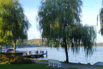 Ferienwohnung Krakow am See Krakower See Umgebung Seepromenade