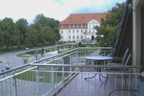 Ferienwohnung Land Fleesensee Göhren Lebbin Balkon