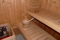 Ferienhaus Tribsees Sauna