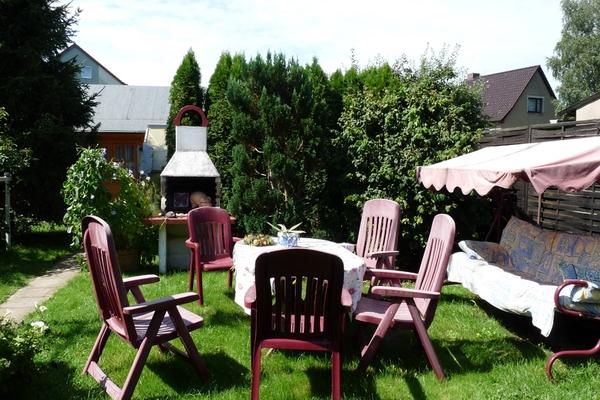 Ferienhaus Tribsees Garten