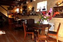 Ferienwohnung Wredenhagen Mecklenburgische Seenplatte Café