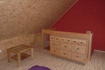 Ferienhaus Fleesensee Untergöhren Schlafboden Kommode