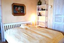 Ferienwohnung Mecklenburgische Seenplatte Wredenhagen Schlafzimmer