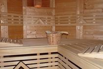 Ferienwohnung Fleesensee Silz Sauna