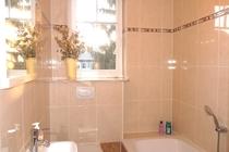 Ferienhaus Fleesensee Untergöhren Bad Badewanne