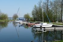 Fleesensee Untergöhren Hafen Boote