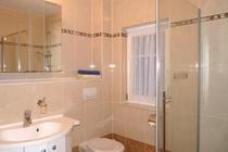 Ferienhaus Fleesensee Untergöhren Bad Dusche