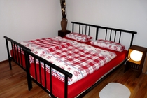 Ferienwohnung Müritz Klink Schlafzimmer
