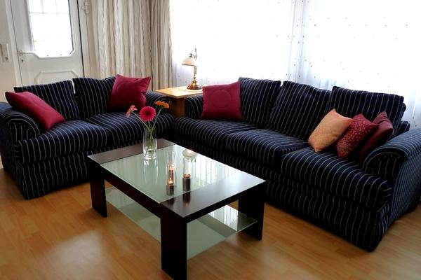 Ferienwohnung Müritz Klink Couch