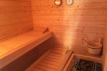 Ferienhaus Malchow Fleesensee Sauna