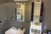 Ferienhaus Malchow Fleesensee Bad separates WC