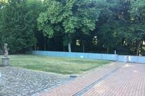 Ferienhaus Malchow Fleesensee Grundstückseinfahrt