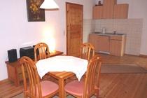 Ferienwohnung Nähe Ostsee Sagerheide Küche