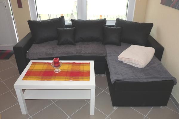 Ferienhaus Plau am See Couch