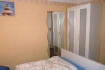 Ferienhaus Plau am See Schlafzimmer Kleiderschrank