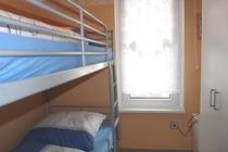 Ferienhaus Plau am See Schlafzimmer Etagenbett