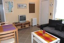 Ferienhaus Plau am See Wohnzimmer