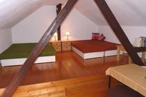 Mecklenburger Seenplatte Ferienhaus am See Polsterbetten