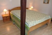 Mecklenburger Seenplatte Ferienhaus am See Schlafzimmer
