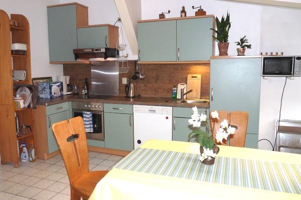 Ferienwohnung Schwerin am See Küche