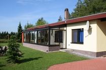 Ferienhaus Krakower See Serrahn Hausansicht