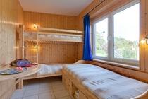 Ferienhaus Krakower See Serrahn zweites Schlafzimmer