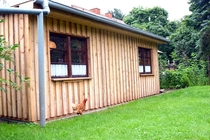 Ferienhaus Mecklenburgische Seenplatte Jabel Hinteransicht