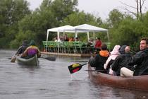 Ferienwohnung in Ueckermünde am Stettiner Haff Umgebung Uecker Flofffahrt Kanu