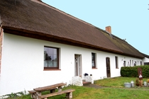 Ferienhaus Nähe Usedom Salchow Hausansicht