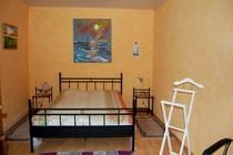 Ferienhaus Nähe Usedom Salchow Schlafzimmer