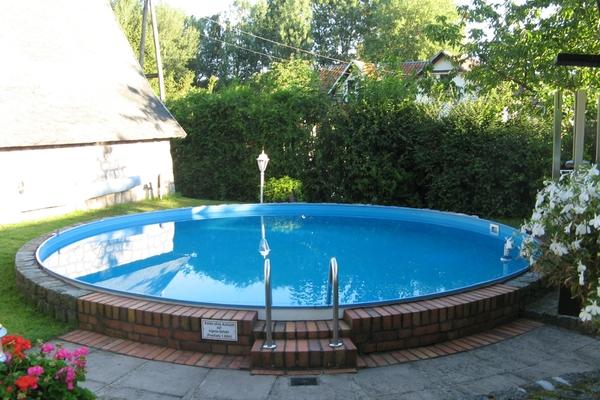 Ferienhaus Malchow Fleesensee Pool