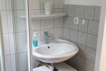 Ferienhaus Malchow Fleesensee Badezimmer