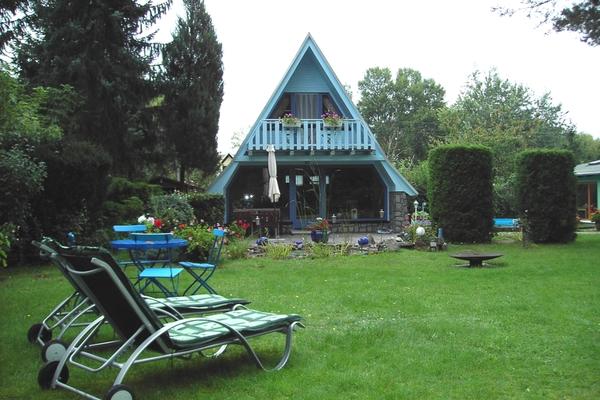 Ferienhaus Malchow Fleesensee Liegestühle