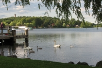Uferpromenade Krakow am See Ausflugstipp