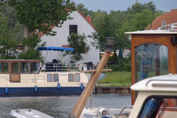 Ferienhaus Rechlin Müritz Hafenblick